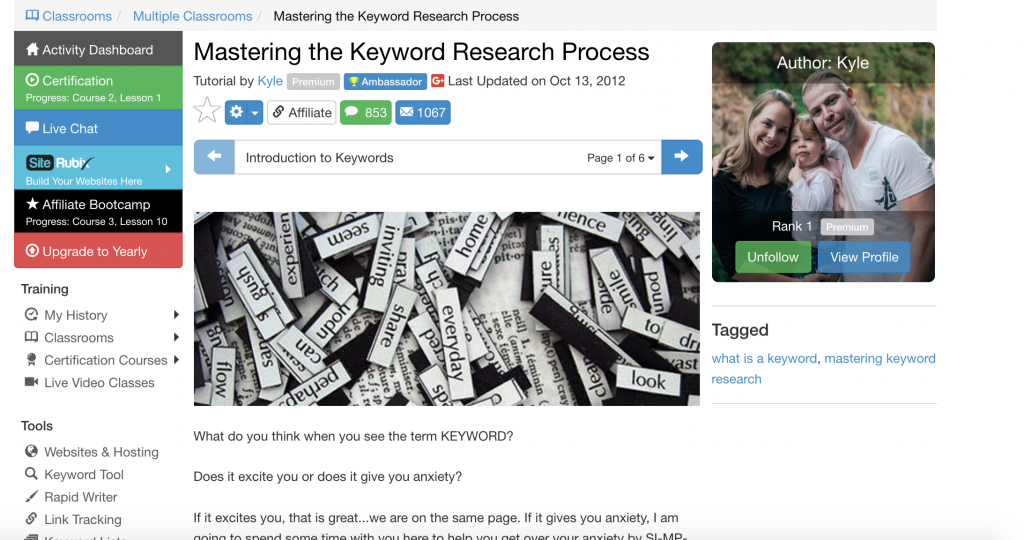 Master the Keyword Research Process