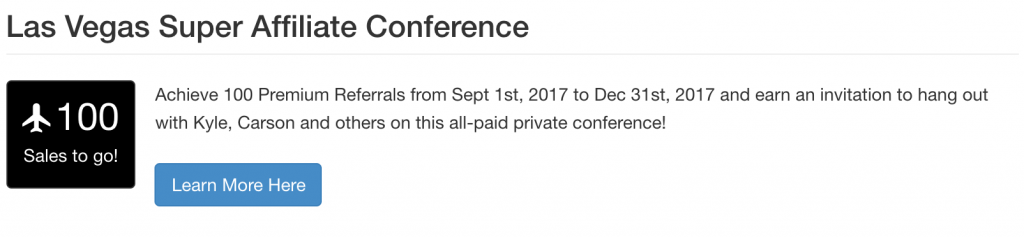 Wealthy Affiliate Conference