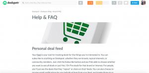 DealShopr Help & FAQ