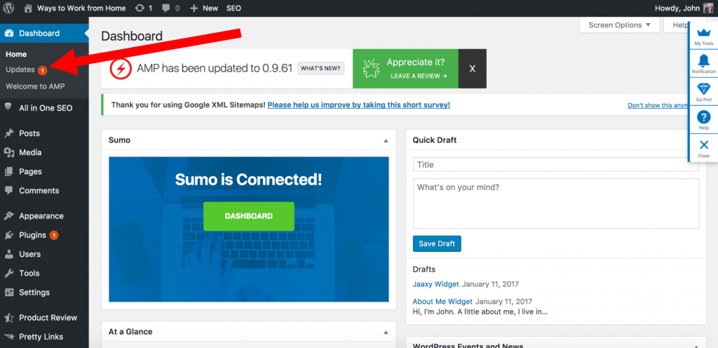 How to Update a WordPress Plugin