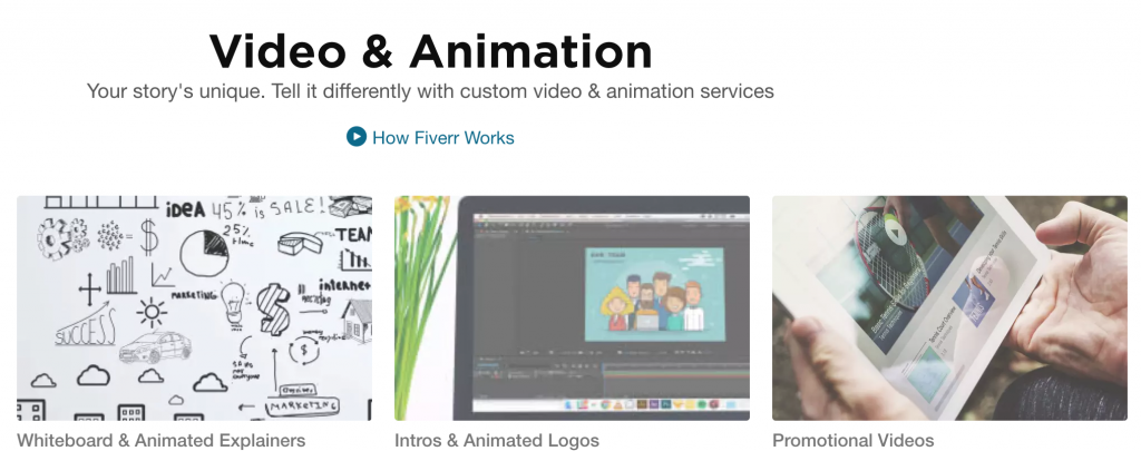 Fiverr - Video & Animation