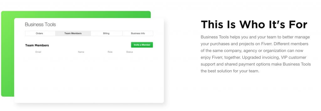 Fiverr - Business Tools